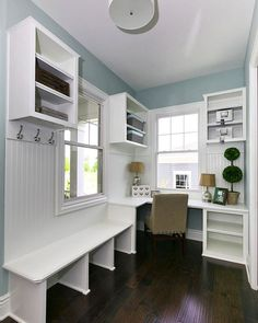 Days like this call for a beautiful mud room. This neighborhood pocket…