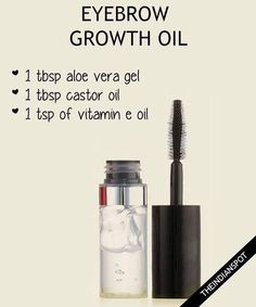 """THEINDIANSPOT en Instagram: """"Try this homemade serum to grow out thin or over-plucked eyebrows - #serum #eyebrows #eyebrowgel #gel #aloevera #castoroil #vitamine #brows…"""""""