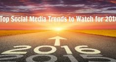 Marketing Strategy: Top Social Media Trends to Watch for 2016 - Adam Houlahan Top Social Media, Social Media Trends, Online Marketing Strategies, Seo Services, Giveaway, Infographic, Humor, Watch, Business