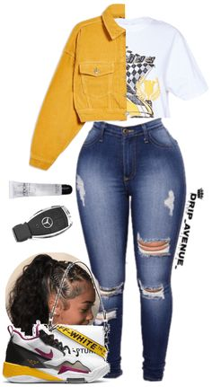 Swaggy Outfits, Baddie Outfits Casual, Swag Outfits For Girls, Teenage Girl Outfits, Cute Swag Outfits, Girls Fashion Clothes, Teen Fashion Outfits, Retro Outfits, Stylish Outfits