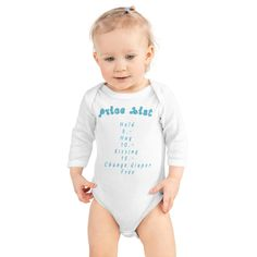 Baby Bodysuit Price List This comfortable long-sleeved bodysuit for chillier days will be perfect for your little one – lap shoulders will make for easier changing. Description of DULLAJ Design Here is DULLAJ DESIGN: For a modern look that is sure to show your own style. Our universal brand is available in all of our [...]The post Baby Bodysuit Price List appeared first on Dullaj.com.