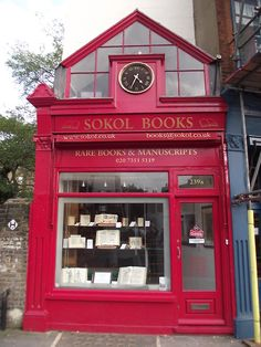 Sokol Books on Fulham Road in Chelsea, Borough of Kensington and Chelsea