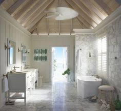 Sun Bleached BathroomFeaturing These Products: