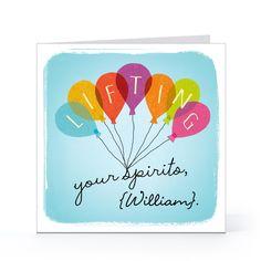 Lifting Your Spirits - Encouragement Cards - Hallmark