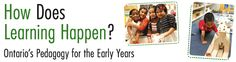HiMama - How Does Learning Happen? Ontario& Pedagogy for the Early Years How Does Learning Happen, Child Care, Ontario, Theory, Acting, Foundation, Parents, Activities, Shit Happens
