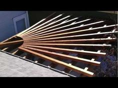 The pergola kits are the easiest and quickest way to build a garden pergola. There are lots of do it yourself pergola kits available to you so that anyone could easily put them together to construct a new structure at their backyard. Curved Pergola, Building A Pergola, Pergola Attached To House, Pergola With Roof, Pergola Lighting, Wooden Pergola, Covered Pergola, Pergola Kits, Patio Fire Pits