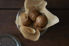 Raw Snack Balls with Apricots, Dates, and Cashews on Food52
