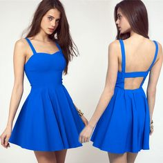 Summer Women Backless Dress Ladies Sexy Dresses on Luulla