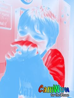 Camwow for iPhone=Cool Picture!