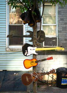 Guitars, Bushwick, Brooklyn