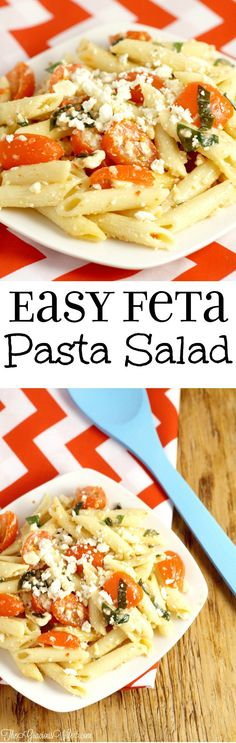 Feta Pasta Salad Recipe