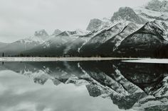 Three Sisters Mountain Range.
