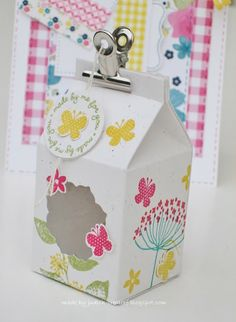 Milk Carton Stampin' Up