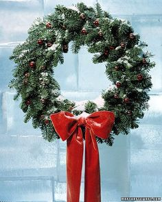 Making a stunning Christmas wreath is simple, just gather the right supplies, seasonal embellishments, and a large dose of holiday spirit.With two basic techniques -- wiring materials to a metal form or applying them to a rounded straw or foam base -- you can make an infinite variety of Christmas wreaths, from greenery wreaths meant to last through the holiday season to heirloom wreaths that can be treasured for years.