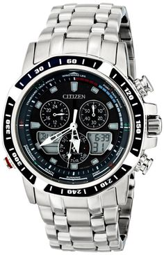 Men watches : Citizen Men's JR4051-54L Sailhawk Japanese Quartz Silver Analog Watch