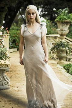 Sheer evening gown