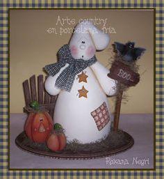 Roxana Negri - Porcelana Fría Country: Halloween