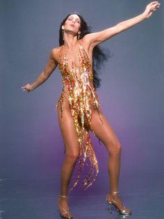 Cher by #HarryLangdon , 1978.