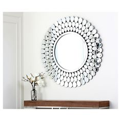You'll love the Serenza Round Silver Wall Mirror at Wayfair - Great Deals on all  products with Free Shipping on most stuff, even the big stuff.