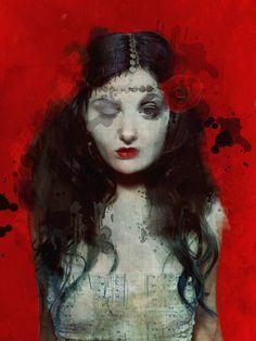 Sarah Jarrett Artisticmoods Com Surreal Art Face Art Figurative Art Collage