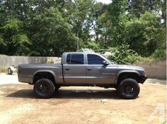 custom quad cab dodge dakota pics | Lifted Dodge Dakota 2002 Quad Cab 33's Dual Turndowns Rollpan 1% Tint ...