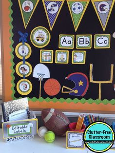 106 best sports classroom theme ideas and decor images in 2019 rh pinterest com