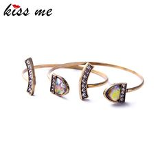 Ms Fashion Elegance Hand Chain New Look Two Pieces Hot Sale Bracelets & Bangles