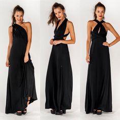 "Pandora'S Box"""" Multi Wear Maxi Dress"