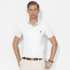 Polo ralph lauren#slim#fit#white