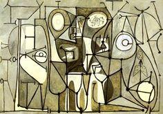 Artist: Picasso, Pablo (1881-1973) Title: La cuisine. 1848.   Location: Musee Picasso - Paris