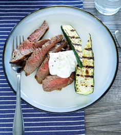 Sirloin Steak with Horseradish Sour Cream - Clean Eating - Clean Eating