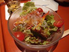 Salad @Tenshichi, 2014/4