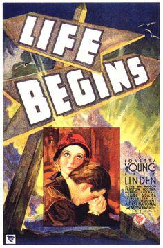 Vintage Movie Poster - 1932