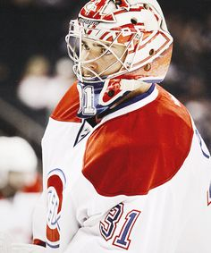 Carey Price, Montreal Canadiens (via martybrodeur Montreal Canadiens, Mtl Canadiens, Hockey Teams, Hockey Players, Nhl, Sports, Hs Sports, Excercise, Sport