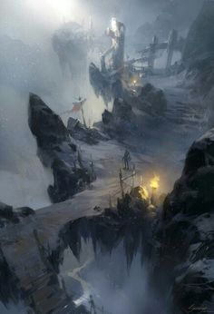 And her path led her high into the fantastical mists of time and place. . .. . EDK