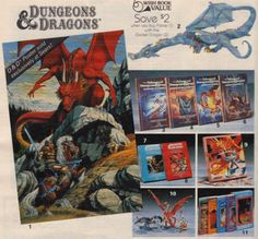 Dungeons and Dragons - Sears Wish Book