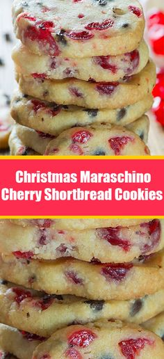 Christmas Maraschino Cherry Shortbread Cookies Don't Lose this Recipe by forgetting to hit the Save Candy Recipes, Holiday Recipes, Cookie Recipes, Dessert Recipes, Christmas Recipes, Christmas Cooking, Christmas Desserts, Biscuits, Shortbread Cookies