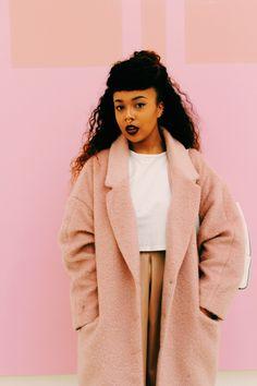 Pink cocoon coat | NC. | VSCO