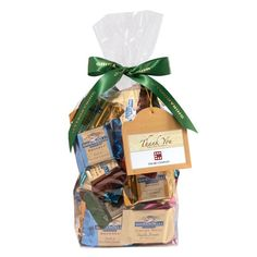Personalized Assorted SQUARES Chocolates Bags - 80 Count  $28