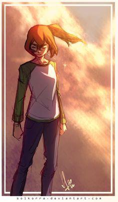 Pidge's (Katie Holt's) Decision from Voltron Legendary Defender