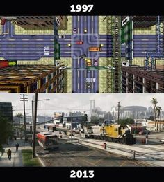 #GTA Then & Now