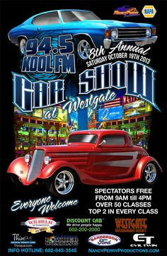 8th Annual 94.5 KOOL FM Car Show at Westgate | Generation: High Output