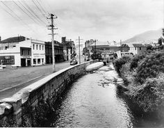 The rivulet in Hobart. Australian Continent, Largest Countries, Small Island, Tasmania, The Expanse, Continents, Family History, Old Photos, Trains