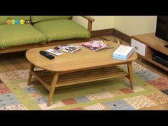 【No Music】 DIY Miniature Living Table ミニチュアリビングテーブル作り - YouTube