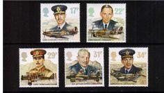British Stamp - Royal Air Force