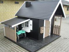 Perfect playhouse with carport http://www.legehytten.dk/global/functions/print.asp?ulang=2