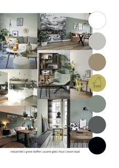 Portfolio 1 Stoere woonkamer in 2020 Interior Design Living Room, Living Room Designs, Living Room Decor, Living Spaces, Interior Decorating, Room Colors, Colorful Interiors, New Homes, Decoration