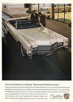 1968 Cadillac Advertisement Time Magazine June_28 1968 | Flickr - Photo Sharing!