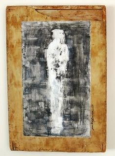 "Saatchi Online Artist Carmit Weizman; Painting, ""Abstract figure"" #art"