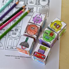 Perfect rainy day activity kids can make for imaginative play. Makes great sibling gifts, too! Free printable included.